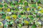 Small 4mm  Static Grass Tufts Self Adhesive 28mm  WW2 Wargames Basing Terrain