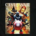 Captain America Civil War Movie *OLDSKOOL RARE ARTWORK SHIRT* image