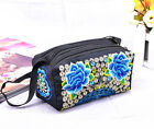 Chinese Ethnic Embroidered Shoulder Messenger Bag Women Handbag Pouch Purse