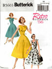 Butterick Pattern B5603 5603 Retro Dress '56 Vintage Reproduction 6-12 14-20 NEW