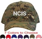NCIS Embroidered Baseball Cap - Available in 7 Colors - Hat - BLOCK Letter Style