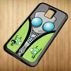 Cheap Cute Gir Invader Zim Doom For Samsung Galaxy S3 S4 S5 Case Cover