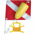 Scuba Dive Flag and Float  2 piece with optional line & h...