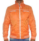 CIPO AND BAXX PARTY POLYESTER JACKET - C7211 ORANGE JACKET