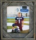 rustic primitive barnwood barn reclaimed weathered wood handmade picture frame