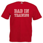 Dad In Training Mens Adult T Shirt