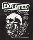 The Exploited T-Shirt Mohawk Skull Logo punk rock XL 2XL 4XL NWT
