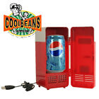 Cool! Mini USBFridge Cool Beverage Drink Cans Cooler/Warmer Refrigerator PC new