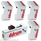 ddrum Drum Triggers Chrome Elite Electronic Trigger 5pc Pack - NEW CETKIT