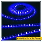 Blue 12V LED IP20 Flexible Indoor Internal Rope Lighting Strip Energy Efficient