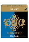 New Rico Grand Concert Select Traditional Bb Clarinet Reeds, Box of 10, RGC10BCL