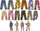 Camouflage Digital Military Bdu Cargo Polyester/Cotton Fatigue Pants