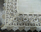 French Country Doiley SEVILLE NATURAL Doily Lace Placemat, Runner, Table or D...