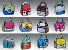 New 2D Drawing 3D Jump Handbag Shoulder Canvas  Cartoon Paper Messenger Bag