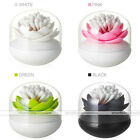Lotus Flower Toothpick Cotton Bud Swab Holder Storage Cup Case Box Home Decor