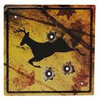 River's Edge Products Rivers Edge 1485 Deer Crossing Tin Sign