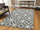 Kyпить Gray Rugs 8x10 Contemporary Diamond Patterned Moroccan Geometric Grey Area Rug 5 на еВаy.соm