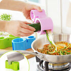 Kitchen Vegetable Fruit Shred Twister Peeler Cutter Spiral Slicer Spiralizer