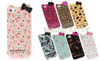 Apple Fashion iPhone 4, 4s Hello Kitty Lovely Bow Pastoral Floral TPU Case Cover