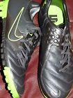 Mens shoes soccer cleats Nike Bomba 415119 $100+ Grey green neon 7.5 8 10 10.5