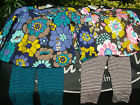 GIRLS CARTERS 2 PIECE NEXT PLAY WEAR LONG SLEEVE FLORAL TOP & LEGGING SET AGE 1