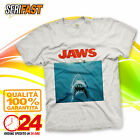 JAWS SHARK FILM SQUALO COVER T-SHIRT maglia camiseta HAPPINESS is you gift idea