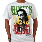 BOB MARLEY ROOTS ROCK REBEL 100% OFFICIALLY LICENSED ZION ROOTSWEAR T-SHIRT