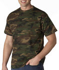 939 Anvil Adult Camouflage Tee Shirt 2 Color Choices