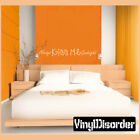 Always kiss me goodnight Wall Quote Mural Decal-bedroomde...