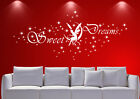 WandTattoo kinderzimmer sweet dreams Fee Stern Wzt02