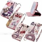 Fashion Crystal PU Leather Stand Wallet Card Case Cover For Samsung Galaxy S4