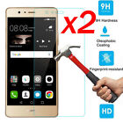 2Pcs 9H+ Tempered Glass Cover Screen Protector For Huawei P9 / P9 Lite / P9 Plus