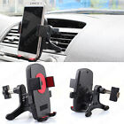 360°Rotation Car Air Vent Mount Cradle Holder Stand for Cell Phone iPhone 6s GPS