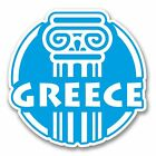 2 x Greece Greek Vinyl Sticker Laptop Travel Luggage Car #6411