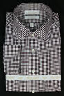Gold Label Roundtree&Yorke Fitted Classic Plum Dress Shirt 14.5 15 15.5 16 17.5