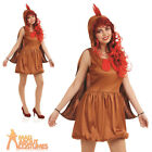 Ladies Hen Costume Womens Chicken Animal Book Week Day Fancy Dress Outfit