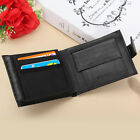 Fashion Men's Leather Bifold Wallet Credit/ID Card Holder Ultra Slim Coin Purse