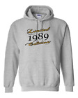Pullover Hooded Hoodie Sweatshirt One Liner Limited Edition 1989 Birthday