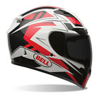 2016 Bell Qualifier DLX ECE Helmet - Clutch Red/Black Transition Tinted Road Tou