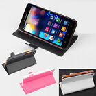 "Brand New Fashion Flip Leather Case Cover Skin For 5"" Lenovo S850 Smartphone L-R"