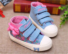NEW Children Kids Girl Sports Sneakers Canvas Casual Shoes