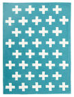 NEW Nordic Crosses Blue Rug