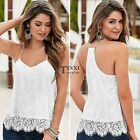 Women Summer Loose Casual Sleeveless Vest Shirt Tank Tops Blouse T-shirt TXSU