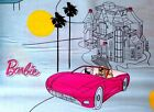 Barbie Purple Vette on Lt Blue Quilting Fabric VIP by Cranston Cotton FQ, BTY
