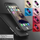 360° Full Hybrid Tempered Glass + Acrylic Hard Case Cover For iPhone 6/6S/6Plus