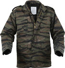 Tiger Stripe Camouflage Military M-65 Field Coat Army M65 Jacket