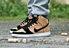 new mens 9.5 Nike Dunk High Premium SB 313171-026 Cork Black/Hazelnut-White