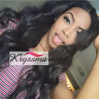 6A Brazilian Lace Front/Full Lace Wigs Human Hair Wave Glueless Wigs For Women