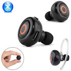 Bluetooth Mini Headphone Earphone Headset Handfree Music Earbuds For iPhone 5 6s