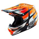 Troy Lee Design TLD 16 AIR AS HELMET STARBREAK MATTE ORG
